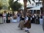 Ball pages sa llarga y sa curta on Ibiza beach Cala san Vicente.