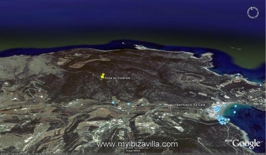 es cuieram ibiza cave google 3d view