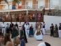 Folk dance ibiza act near the hotel of Cala san Vicente.