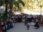 Kids performing a folk Ibiza dance act.