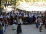 A folk dance Ibiza act in Cala san Vicente in August.