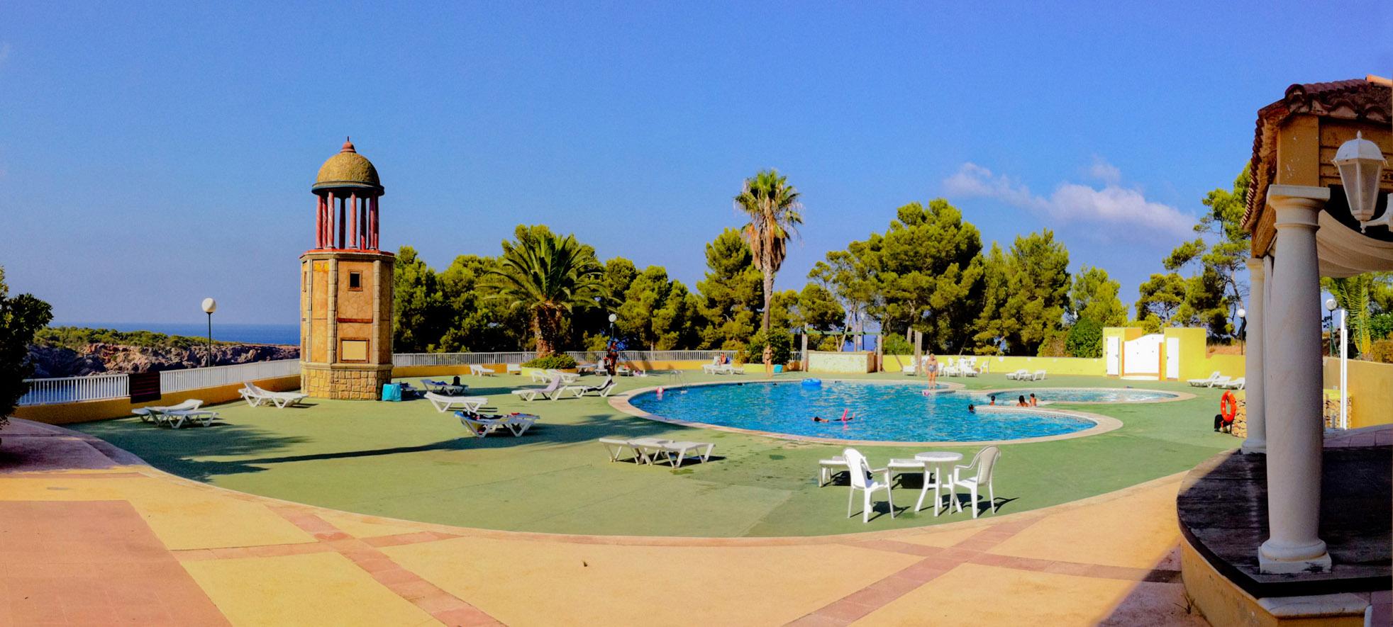 Ibiza community pool