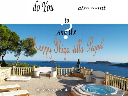 Ibiza villa happy people