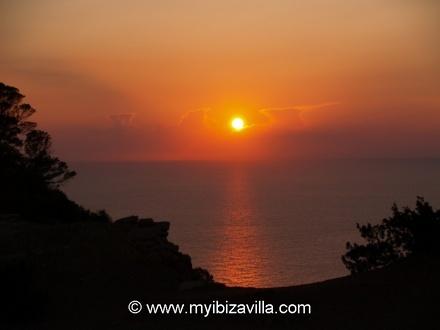 Ibiza villa sunrise