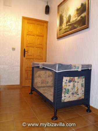 young bedroom extra childs bed of the Spain villa.