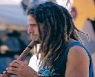 ibiza hippy with flute