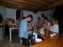 Een cocktail feestje aan de bar van deze Ibiza villa, juni 2010
