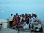 Ibiza villa Norwegian birthday party groups photo