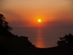 Click for the Ibiza sunsets seen from the villa