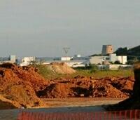 zand voor nieuw golf project Ibiza in Playa den Bossa