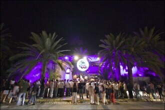 Pacha Ibiza disco outside