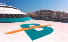 Baleària super fast ferry to Ibiza